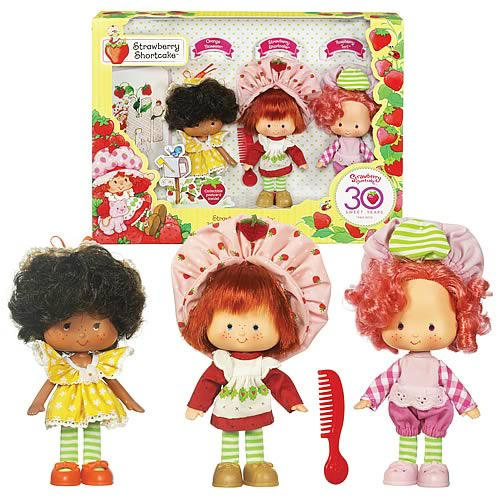 ... vintage style and the set will include Strawberry Shortcake, Orange