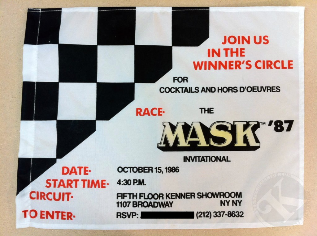 The MASK 87 Invitational Flag
