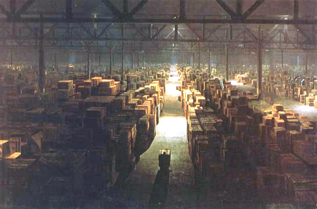 Raiders Of The Lost Ark Warehouse
