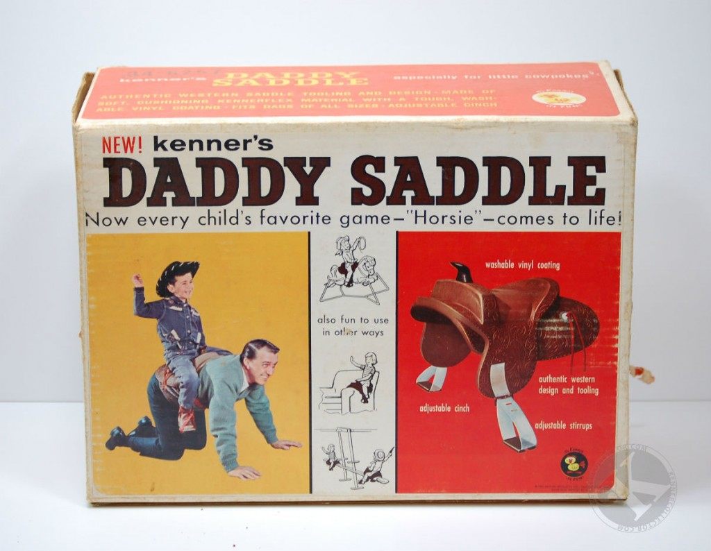 Kenner Daddy Saddle Box