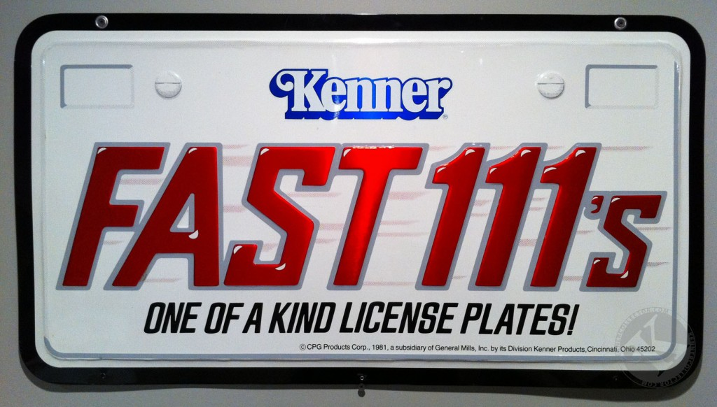 Kenner Fast111s Double-Sided Metal Store Display