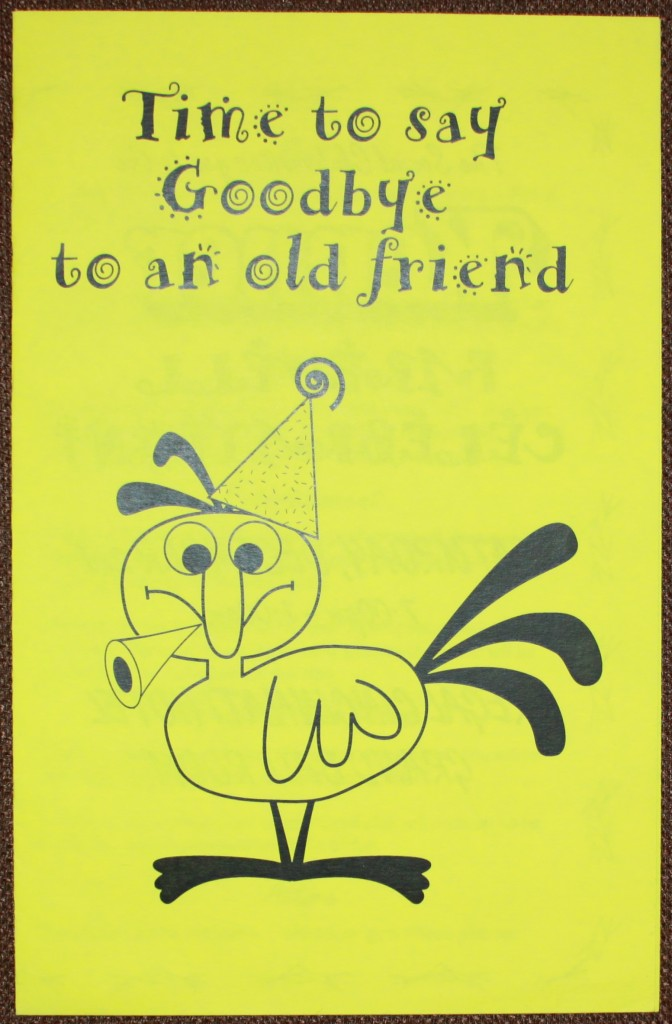 kenner farewell party invitation