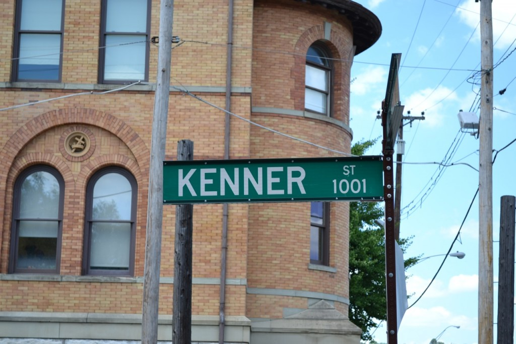 Kenner Street Sign Cincinnati, Ohio