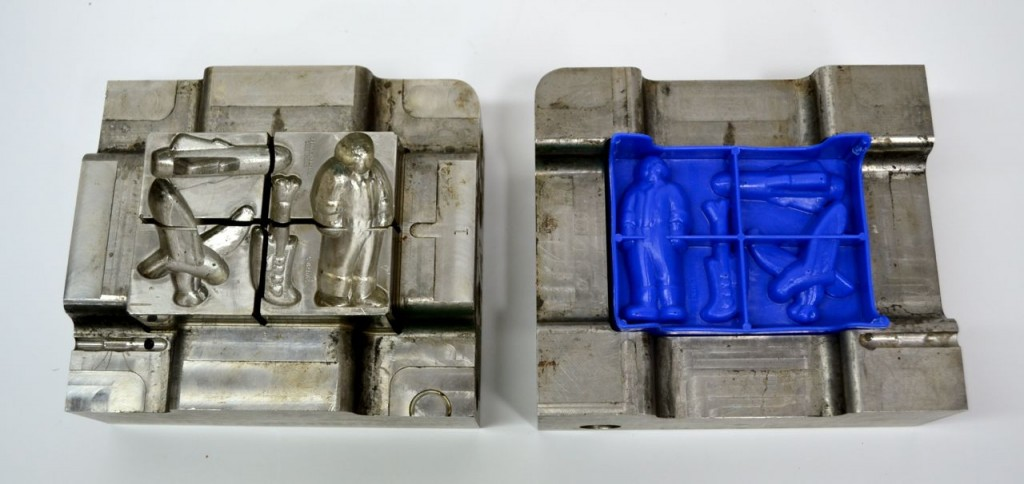 Kenner Silverhawks Play-Doh Mold