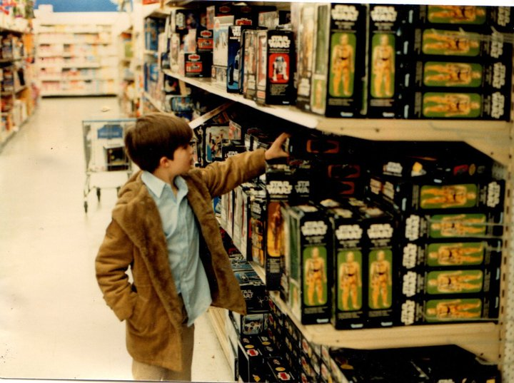 Kenner Star Wars Toy Store Shelves