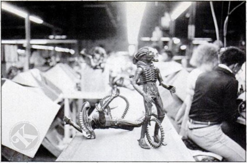"Kenner 18"" Alien Toy Factory Photo 1979"