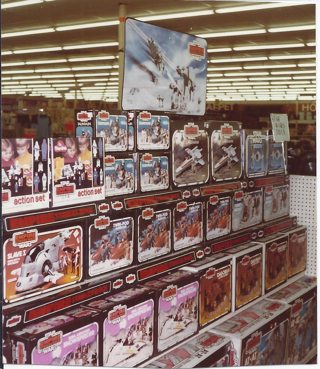 Star Wars 80s Toys : Esb kennercollector vintage star wars toy store photo