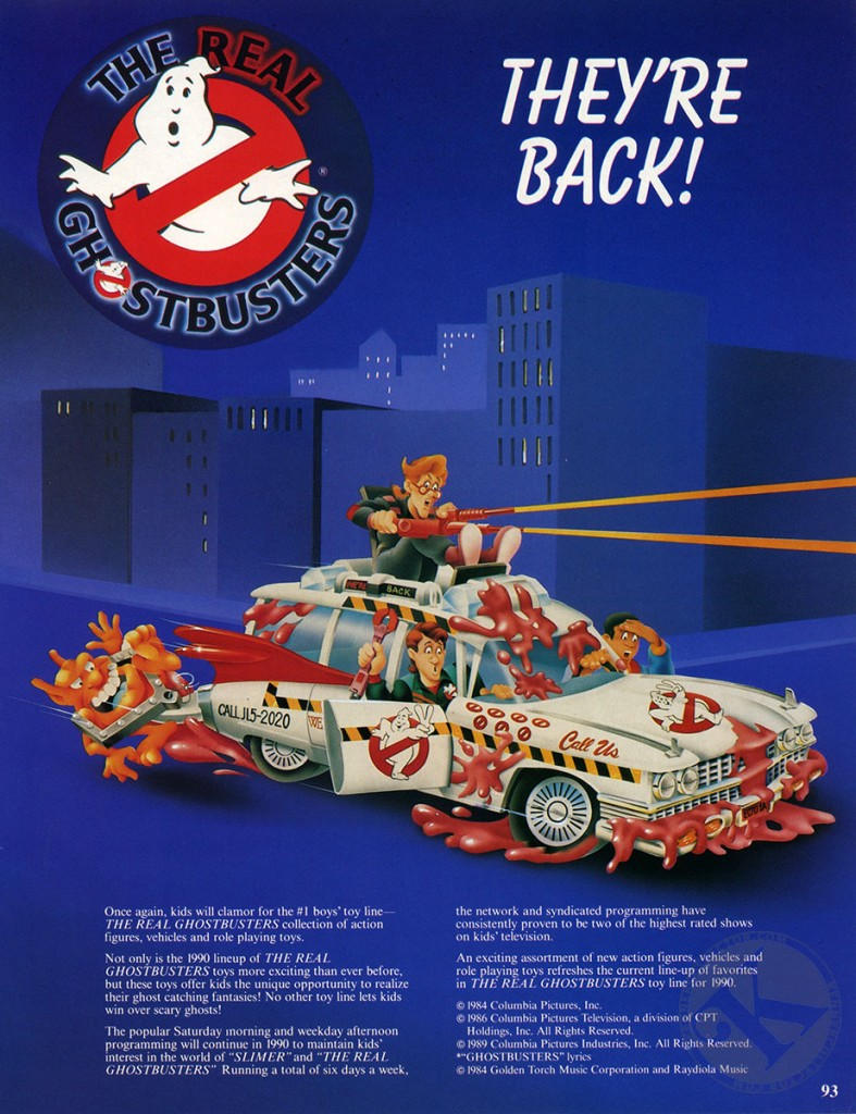 Kenner 1990 Toy Fair Real Ghostbusters Ecto-1A