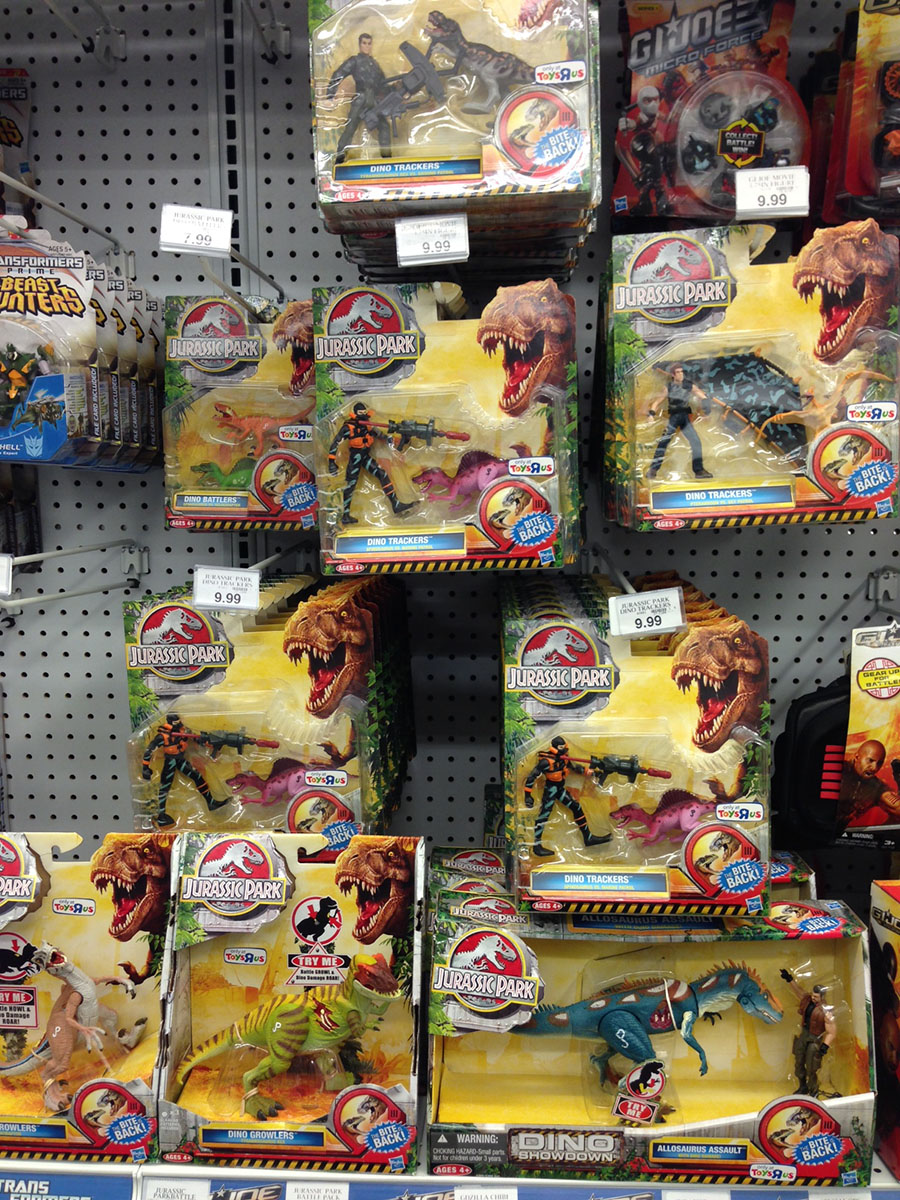 Jurassic Park Toys : Welcome back to jurassic park kennercollector