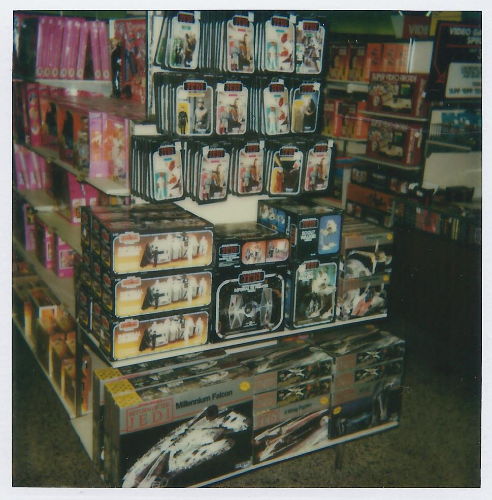 Star Wars Vintage Toys : Kennercollector vintage star wars toy store photo