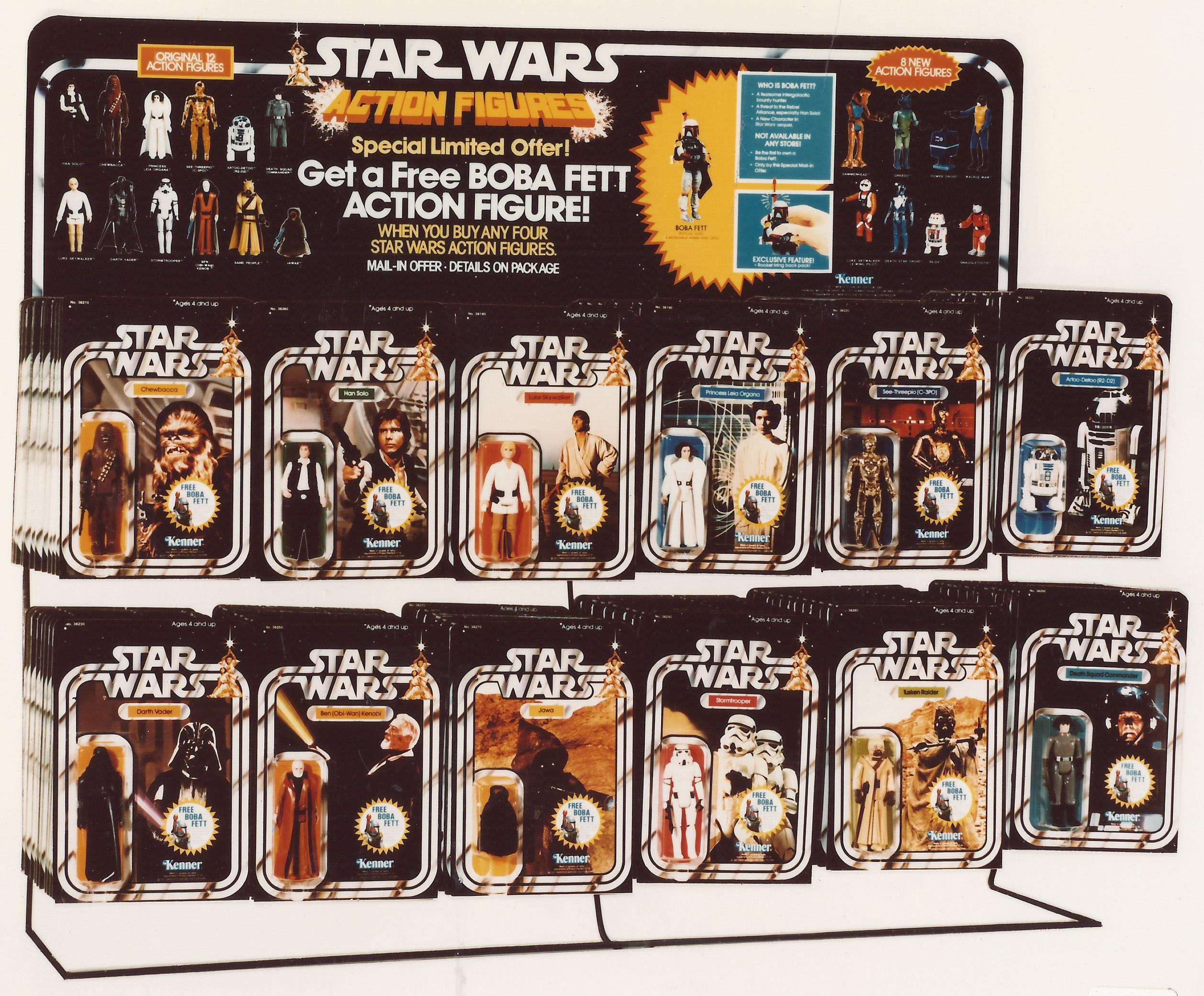 Star Wars Vintage Toys : Sw display kennercollector vintage star wars toy store