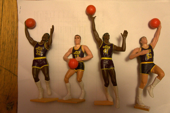 Kenner Collector Utah Jazz Starting Lineup Mens Health Magazine