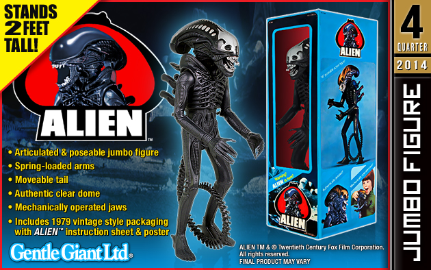 Kenner Collector Gentle Giant 24 Inch Alien Figure
