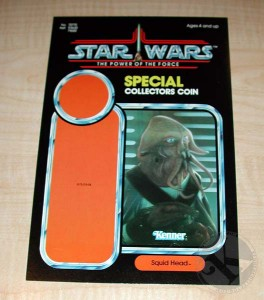 Kenner Collector Steve Denny Interview Star Wars Prototype Unproduced POTF Squid Head Proof Card