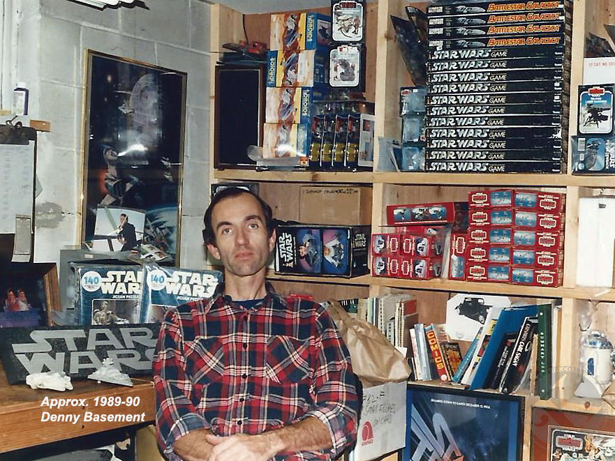 KennerCollector.com Steve Denny Interview Star Wars Toys Basement