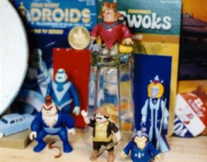 Kenner Collector Steve Denny Star Wars Prototype Unproduced Droids and Ewoks