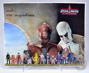 Kenner Collector Steve Denny Interview Star Wars Art Contest