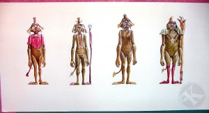 Kenner Collector Steve Denny Interview Star Wars Ewoks Prototype Art