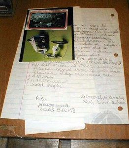 Kenner Collector Steve Denny Interview Star Wars Fan Letter