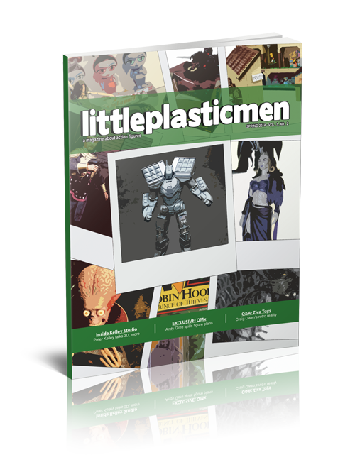 Littleplasticmen Magazine Issue 2
