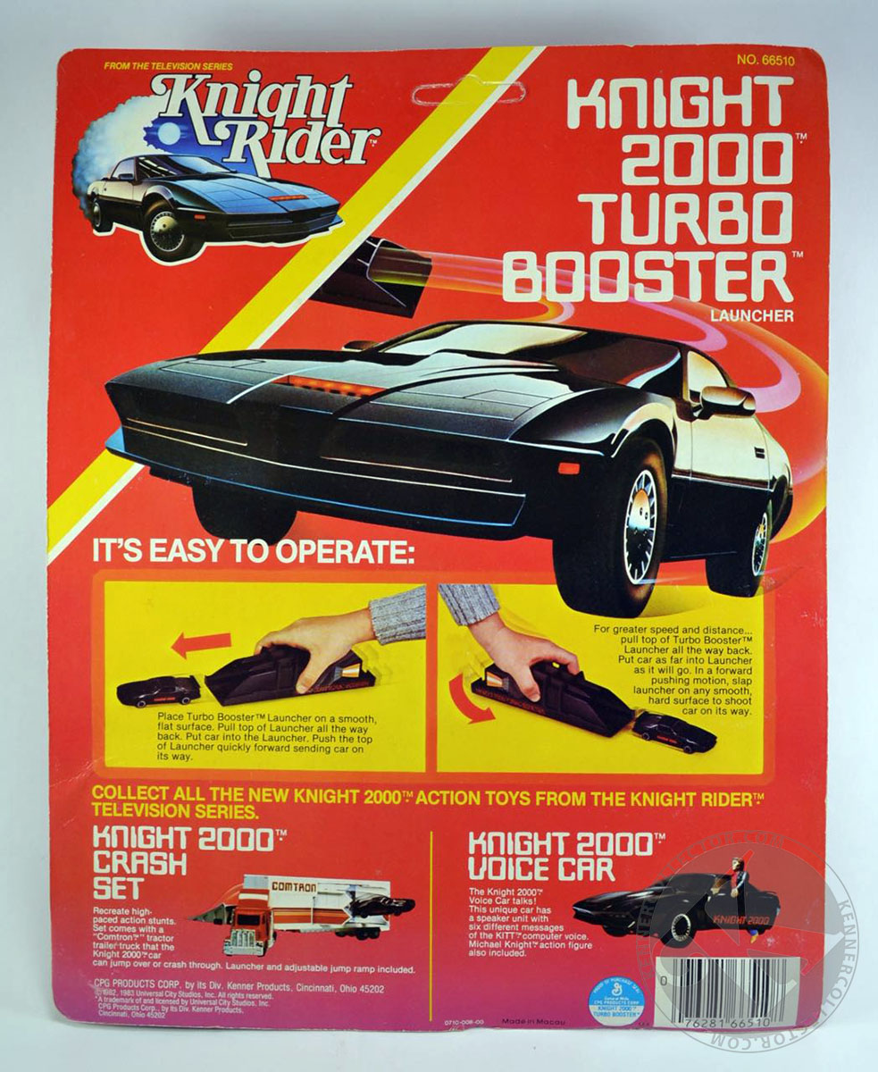 kenner s knight rider knight 2000 turbo booster. Black Bedroom Furniture Sets. Home Design Ideas