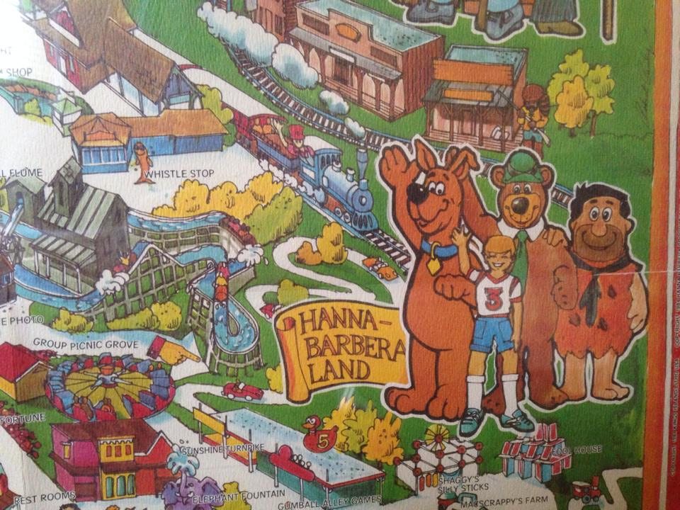 Kenner Collector Kings Island Fun Map Poster