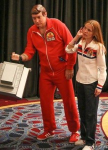 Kenner Six Million Dollar Man and Bionic Woman cosplay