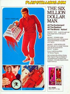 Kenner Six Million Dollar Man Bionic Woman Cosplay