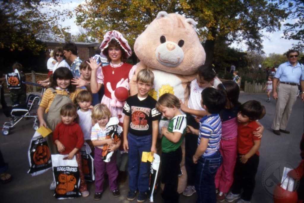 Kenner Care Bear and Strawberry Shortcake at Cincinnati Zoo