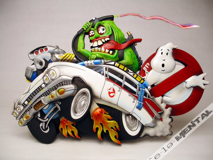Kenner Real Ghostbusters Ed Roth Mashup