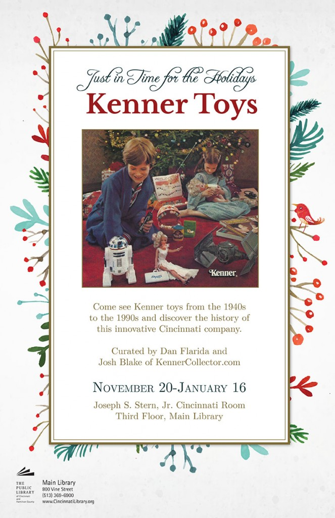 Just in Time for Holidays Kenner Library Exhibit